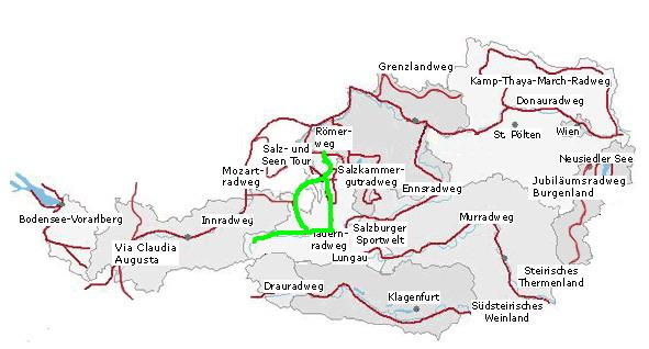 Stezka Taurska Tauernradweg
